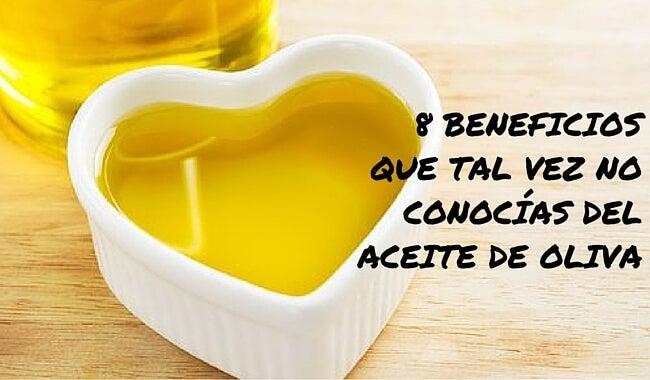 8 beneficios que tal vez no conocías del aceite de oliva