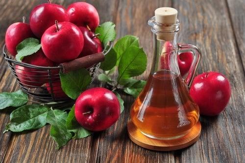 Acondicionador natural de vinagre de manzana