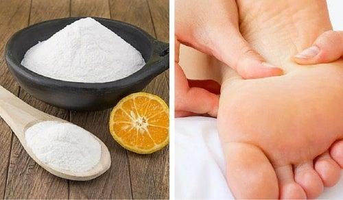 Desodorante natural y casero para pies y zapatos