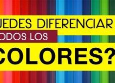 Diferenciar todos los colores