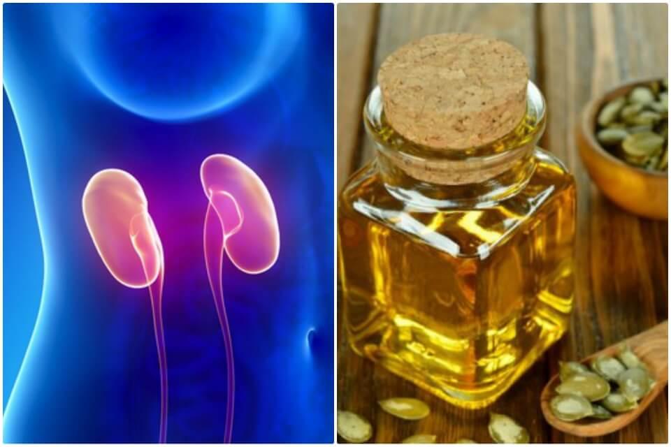 El aceite de semillas de calabaza favorece tu salud renal ¡Descúbrelo!