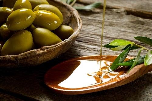 Hidratante de aceite de oliva