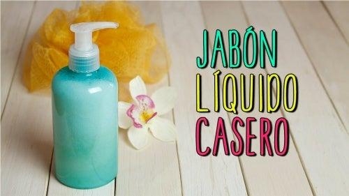 Cómo hacer en casa tu propio jabón líquido para las manos