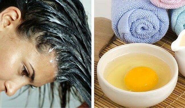 las mejores mascarillas de huevo para el cabello — mejor con salud