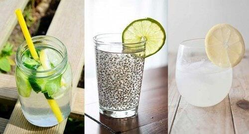 6 deliciosas formas de preparar agua para desintoxicar tu cuerpo