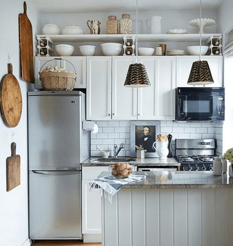 9 ideas para aprovechar el espacio de una cocina pequeña
