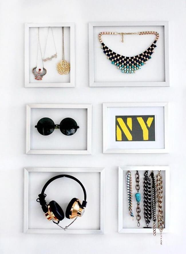 Hay muchas formas de usar cuadros en tu casa