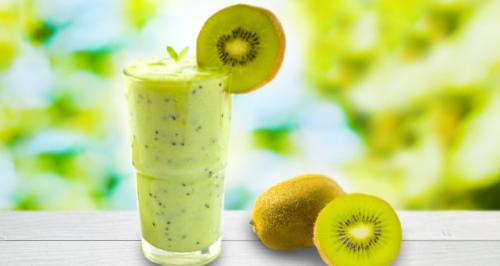 licuado de melón y kiwi