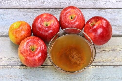 manzanas vinagre