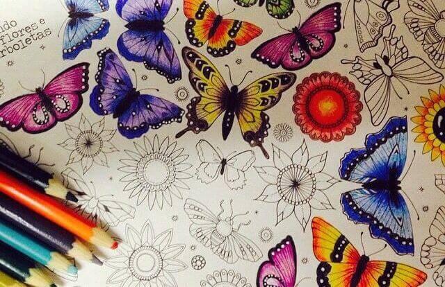 Los libros para colorear son potentes aliados para reducir el estrés