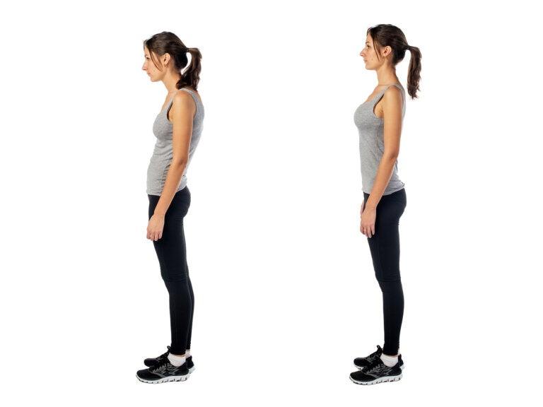 7 ejercicios que te ayudarán a mejorar tu postura corporal