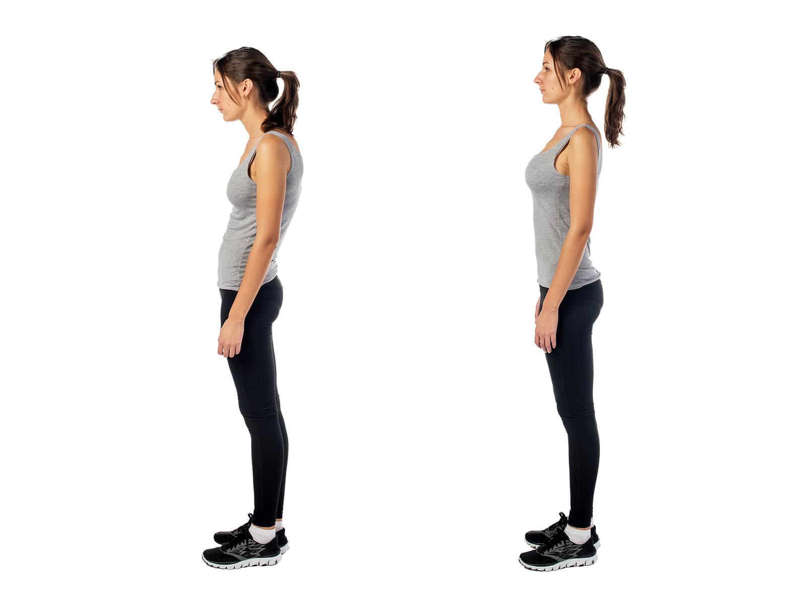 Se recomienda mejorar la postura corporal para evitar dolores.