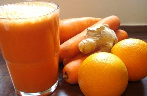 naranjas y jengibre
