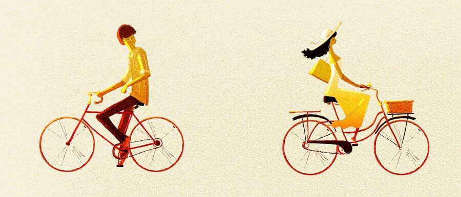 pareja-en-bicicleta