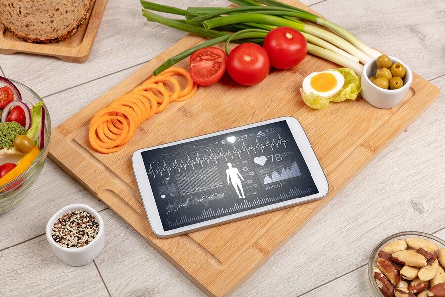 Plan de dieta por internet.