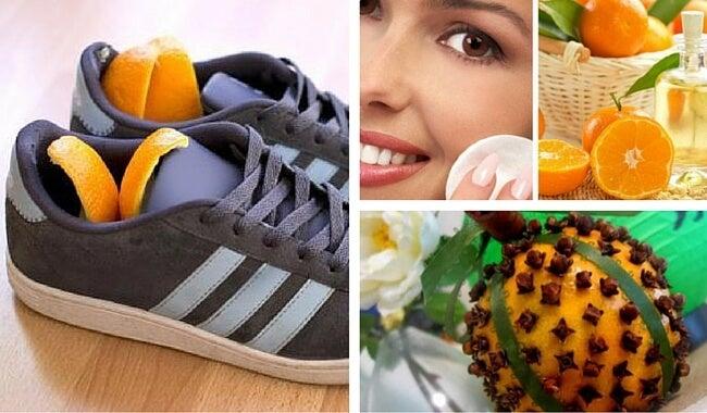 10 maneras creativas de reutilizar la cáscara de naranja