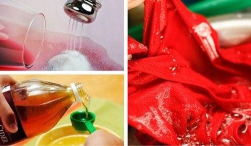 5 tips caseros para evitar que la ropa destiña al lavarla