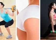6 ejercicios rápidos con los que conseguirás unos glúteos firmes