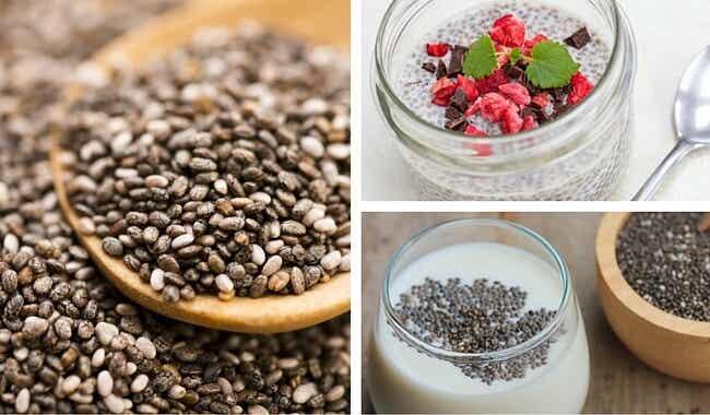 6 maravillosas ideas para incluir las semillas de chía en tu dieta