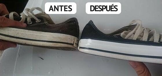 Cómo Blanquear Las Zapatillas Blancas Con Algunos Trucos Caseros Mejor Con Salud