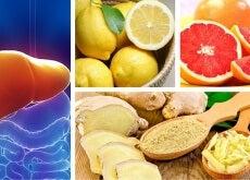 Depuración hepática y renal con limón, pomelo y jengibre