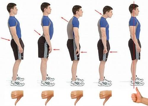 6 técnicas para mantener la postura de la columna