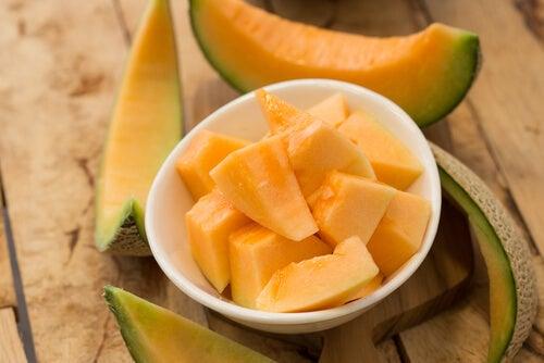 Melon para reducir el colesterol