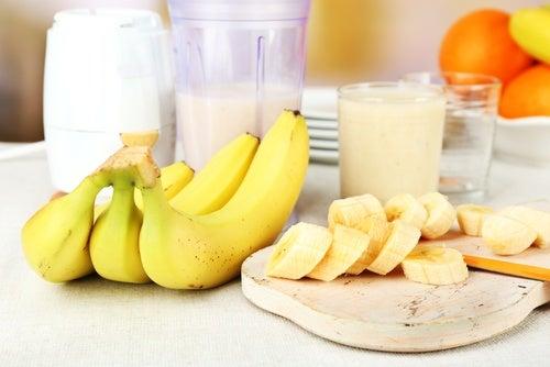 Plátano y leche