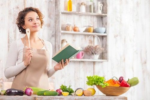 Planifica tu menú con anticipación