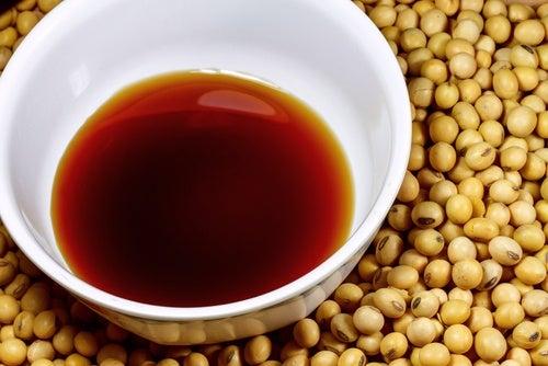 Salsa de soja