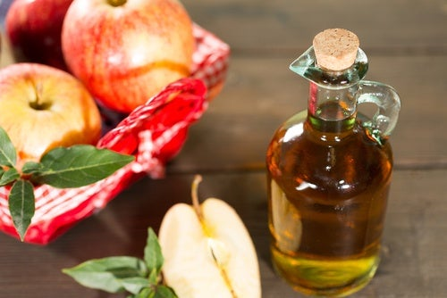 Vinagre de manzana champignon