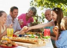 comida casera familiar
