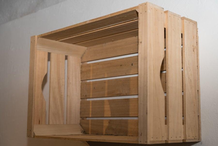Caja de madera: uno de los objetos cotidianos que puedes reutilizar