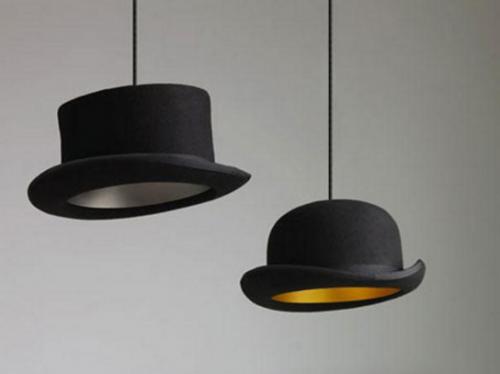 Lámpara de sombrero
