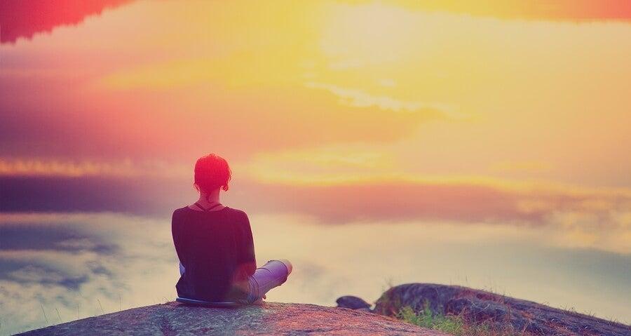 A veces no es fácil estar alegres, pero podemos estar en paz