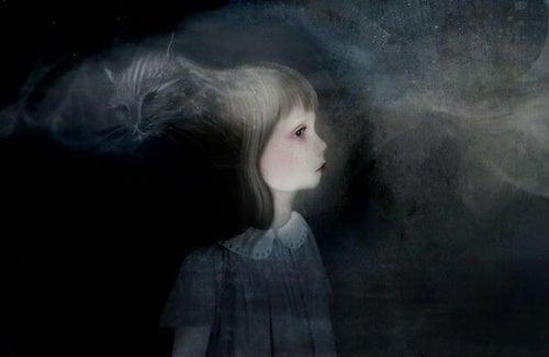 niño-en-oscuridad-representando-oscuridad