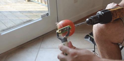 pelar más fácil manzana