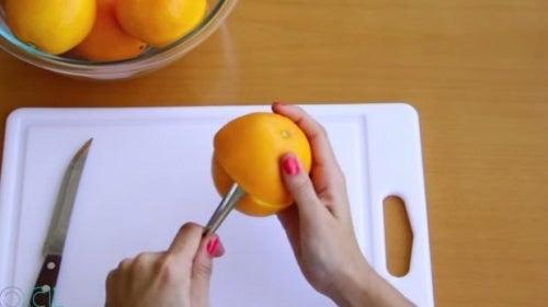 pelar más fácil la naranja