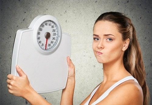 Porque se detiene la perdida de peso