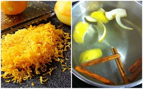 3 remedios con cáscara de limón