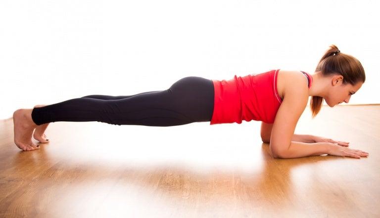 5 beneficios de hacer plank todos los días