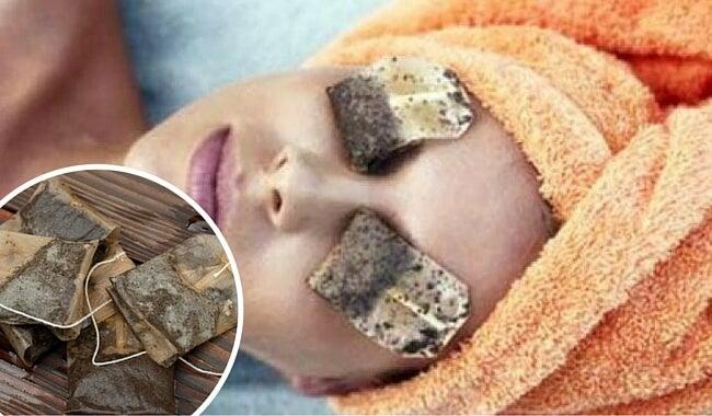 Aprovecha las bolsitas de infusión para hacerte mascarillas