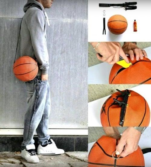 Reciclar un balón desinflado