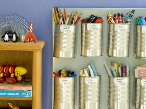 Reciclar con latas