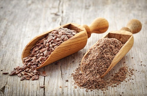 Remedio de clavos y semillas de lino.