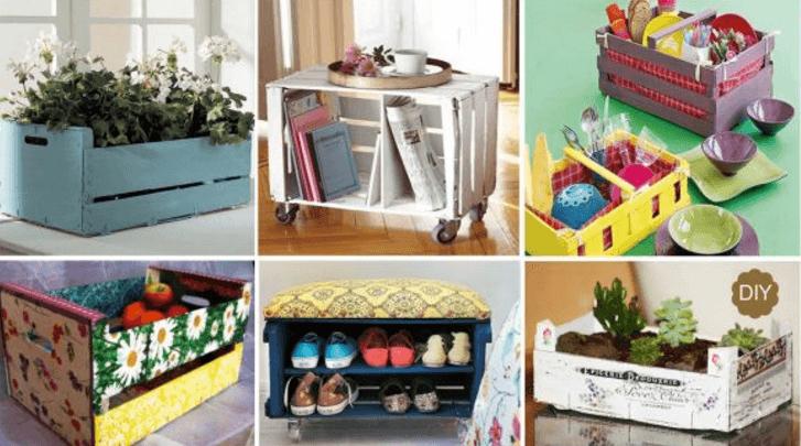 7 manualidades con cajas para decorar mejor con salud - Decorar terrazas reciclando ...