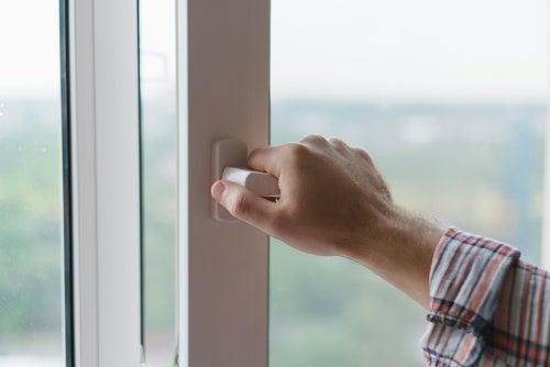 Feche as janelas