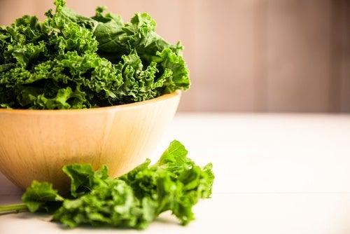 Col rizada, un buen alimento para la salud ocular