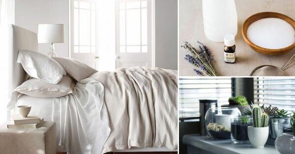 8 trucos para desinfectar tu dormitorio de manera natural