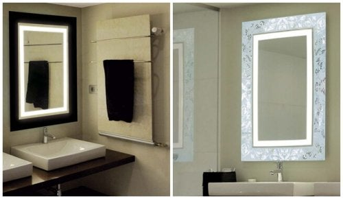 Bonitos espejos de baño